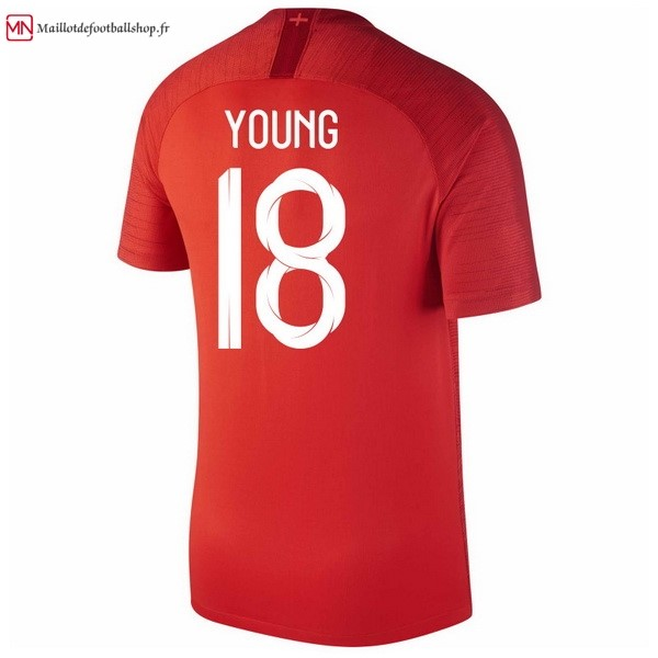 Maillot Football Angleterre Exterieur Young 2018 Rouge